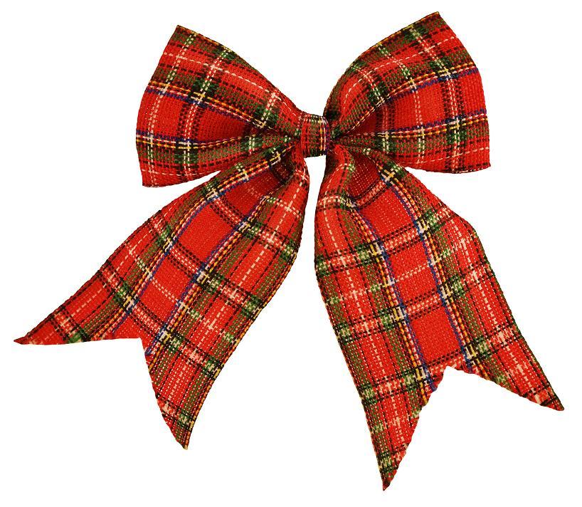 tartan bow